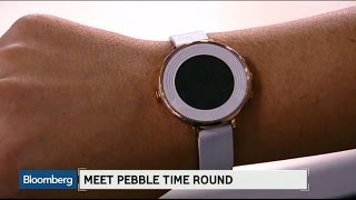 getlinkyoutube.com-Pebble Targets Females With New Round, Thin Smartwatch