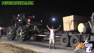 getlinkyoutube.com-CUMMINS MEGA TRUCK vs 5 TON MILITARY TRUCK