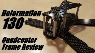 getlinkyoutube.com-Deformation 130 Qaudcopter Frame Review from Banggood
