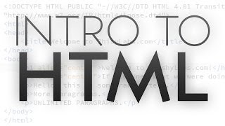 Intro to HTML   Getting Started