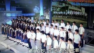 getlinkyoutube.com-24時間テレビ 大槌中学校卒業生 旅立ちの日に.../川嶋あい 合唱