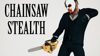 getlinkyoutube.com-[Payday 2] Chainsaw Only Stealth