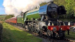 getlinkyoutube.com-Flying Scotsman Returns - East Lancs Railway - 13th October 2016 (4K)