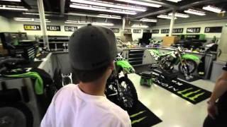 Kawasaki Cribs with Ryan Villopoto2 and Adam Cianciarulo92