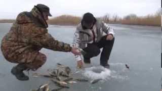 getlinkyoutube.com-Зимняя рыбалка на окуня