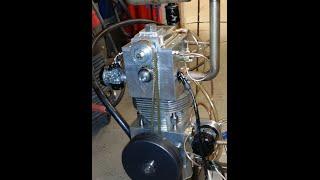 getlinkyoutube.com-100% homemade 4-stroke engine  -Testing-