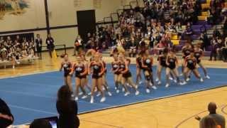 getlinkyoutube.com-St. Charles East Varsity Cheer @ Sectionals 2014