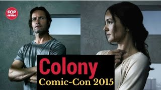 SDCC 2015: Josh Holloway e Sarah Wayne Callies de Colony