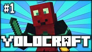 YOLOCRAFT - MINECRAFT - Season 4 - Part 1 W/ Blitzwinger & Gamer (Survival) (HD)