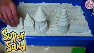 getlinkyoutube.com-Super Sand Giant - cooler als Knetmasse - Sands Alive! unboxing und Test