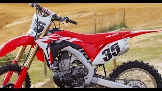 getlinkyoutube.com-First Ride 2017 Honda CRF 450- Motocross Action Magazine