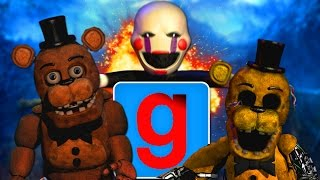 EPIC REACTION - Five Nights at Garry's Mod