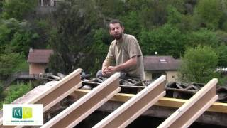 getlinkyoutube.com-Rénovation toiture, refaire une toiture ancienne (charpente et couverture), renovation Roofing