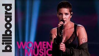 Halsey 'Colors' Live Performance | Billboard Women in Music 2016 width=