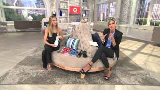 getlinkyoutube.com-Marc Fisher Leather Sporty Thong Sandals - Anastasia with Shawn Killinger