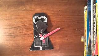 getlinkyoutube.com-How to fold origami Kylo Ren!
