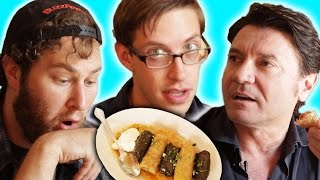 Americans Try Balkan Food With Their Uber Driver
