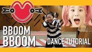 MOMOLAND (모모랜드) BBoom BBoom (뿜뿜) Dance Tutorial | Full w Mirror [Charissahoo]