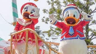 getlinkyoutube.com-ディズニー・クリスマス・ストーリーズ2016 ドナルド・デイジーフロート