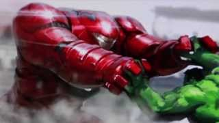 getlinkyoutube.com-First Look At The Avengers Age Of Ultron Scarlet Witch, Quicksilver & Hulkbuster Iron Man!