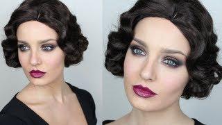 getlinkyoutube.com-Vintage Inspired Great Gatsby Makeup!