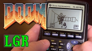 LGR-Doom-on-a-Calculator-Ti-83-Plus-Games-Tutorial width=