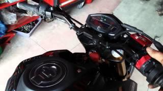 getlinkyoutube.com-M SLAZ 150  เปลี่ยนท่อ leovince