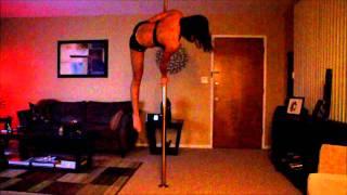 getlinkyoutube.com-Nicole Pole Dance - Lotus Flower Bomb