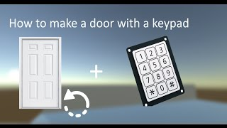 getlinkyoutube.com-[Unity3D] How to make a door with keypad (Script in the description) [HD]