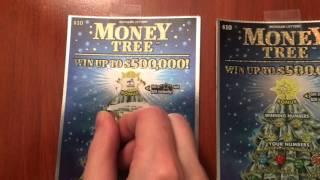 getlinkyoutube.com-$400 in Money Tree Tickets - $10 Scratch Off Lottery Tickets (10) Part 2