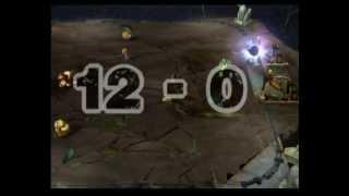 getlinkyoutube.com-Mario Strikers Charged Match: Peach vs. Donkey Kong [Thunder Island]