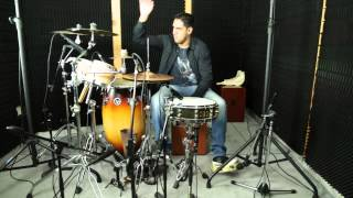 getlinkyoutube.com-Francisco Ballón - Perú Funk Cuba - Set de Percusión Múltiple