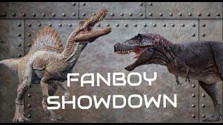 getlinkyoutube.com-Ultimate Battles: T.rex versus 2014 Spinosaurus