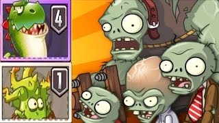 getlinkyoutube.com-Plants Vs Zombies 2: ALL Max Level New China Plants vs Jurassic World! PvZ 2
