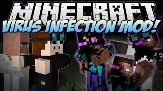 getlinkyoutube.com-Minecraft | VIRUS INFECTION! (Can You Save the World from EVIL?) | Mod Showcase