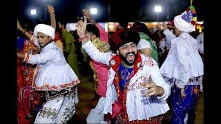 Live Garba  Gandhinagar Cultural Forum Navratri 2018  Day 5 Golden Cheers Group