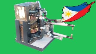 getlinkyoutube.com-Diy Spot Welder Microwave Oven Transformer(MOT)
