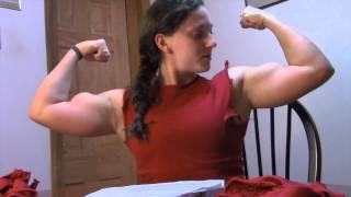 getlinkyoutube.com-Muscular College Girl