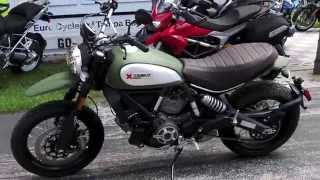 2015 Scrambler Ducati Urban Enduro in Wild Green at Euro Cycles of Tampa Bay