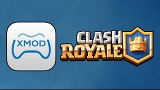 getlinkyoutube.com-Como usar o xmodgames no Clash Roayale -  ROOT
