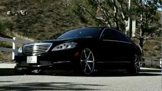 New Mercedes Benz S550 with 22 Inch Lexani R-Six Wheels