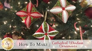 getlinkyoutube.com-How to Make a Cathedral Window Ornament | with Jennifer Bosworth of Shabby Fabrics