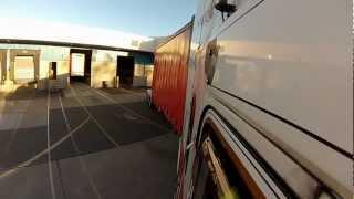 getlinkyoutube.com-Australian Trucks  Trucking in Australia. docking B Double jim pearson transport