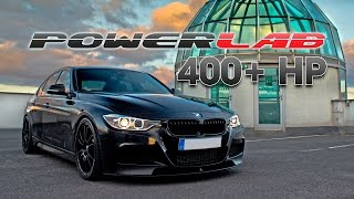 getlinkyoutube.com-Tuned BMW 335i F30 by PowerLAB! - hard accelerating, revs, onboard & GoPro footage...