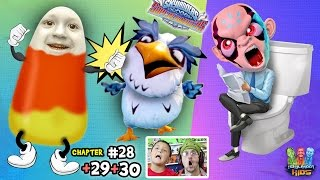 getlinkyoutube.com-Lets Play SKYLANDERS SUPERCHARGERS Chapter 28, 29, 30: Kaos Diary-uh & Cluck 'n Candy Corn 2.0