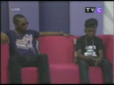 12 Year Old Lil P Up Against Olamide In A Rap Battle [AFRICAX5]