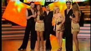 getlinkyoutube.com-K. Martakis, N. Mpoule, A. Iliadi - Cha Cha Challenge (Dancing With The Stars)