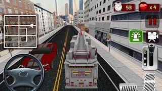 getlinkyoutube.com-Firefighter Truck Simulator 3D - Gameplay Android