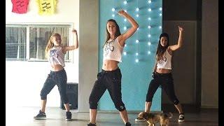 getlinkyoutube.com-I dont like it, I love it - Robin Thicke & Flo Rida - Easy Dance Fitness Choreography