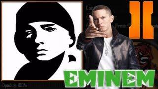 getlinkyoutube.com-Black Ops 2 - Eminem Emblem Tutorial (slim shady / marshall mathers)